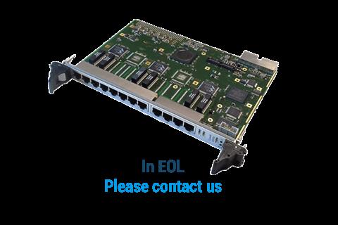 ComEth4000a - 6U cPCI Gigabit Ethernet Switch