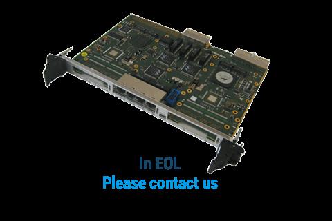 ComEth 4030a - 6U cPCI Giga Ethernet Switch