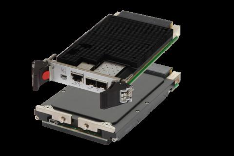 ComEth4412a - 3U VPX hybrid PCIe and GbE Switch