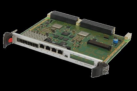 ComEth 4515a - 6U OpenVPX 1/10/40 Gigabit Ethernet Switch