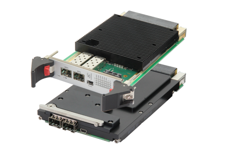 ComEth4582a - 3U OpenVPX 10/40 Gigabit Ethernet Switch