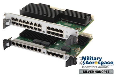 ComEth4000e - 6U VME 1/10/40 Gigabit Ethernet Switch