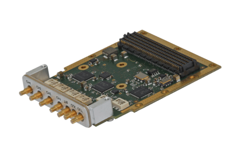 D/A conversion FPGA Mezzanine Card