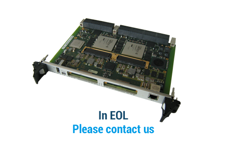 IC-FEP-VPX6a - 6U VPX FPGA and QorIQ processing board