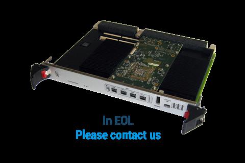 IC-GRA-VPX6a - AMD E8860 / Xilinx Kintex®-7 Graphic & Processing board