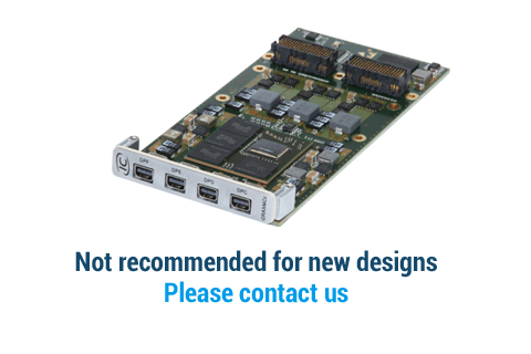 IC-GRA-XMCc - AMD E8860 XMC graphics board