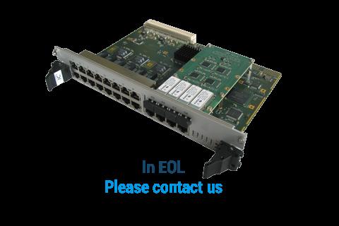 ComEth4000a - 6U VME Gigabit Ethernet Switch
