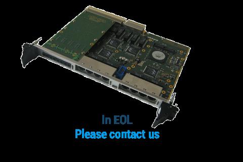 ComEth4030a - 6U VME Giga Ethernet Switch